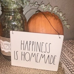 Rae Dunn Happiness is Homemade plaque